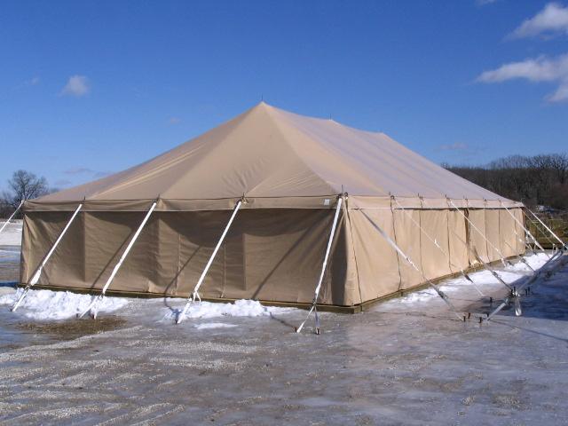 Military Tent, GSA, Tan Tent, March 2008