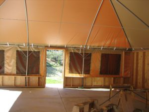 Bunk Tent for RawHyde Adventures in Mojave Desert