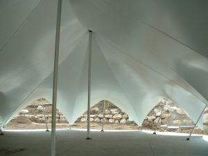 Interior of TensionTent, Salt Lake City, Utah, Western Garden Center