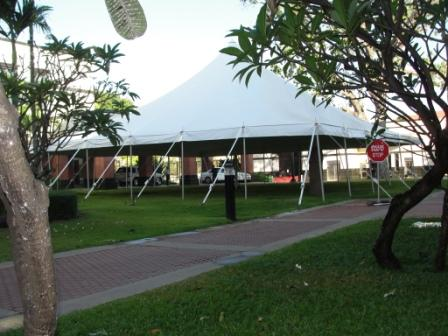 50x50 EuroTent at U.S. Embassy in Phnom, Penh, Cambodia