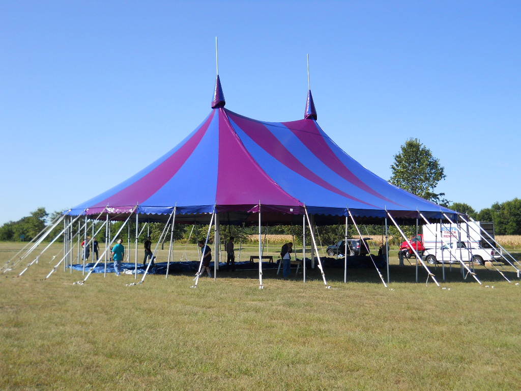 Armbruster Manufacturing Co Circus Tent On The Way