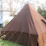 Original 1916 Tent on Loan to Armbruster for Reference,