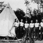 Example of a WWI British Bell Tents reproduced for the ANZAC GIRLS Australian TV Series