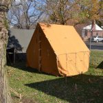WWI US Small Wall Tent