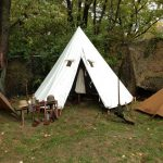 Armbruster reproduced this Kuk tent from the photo