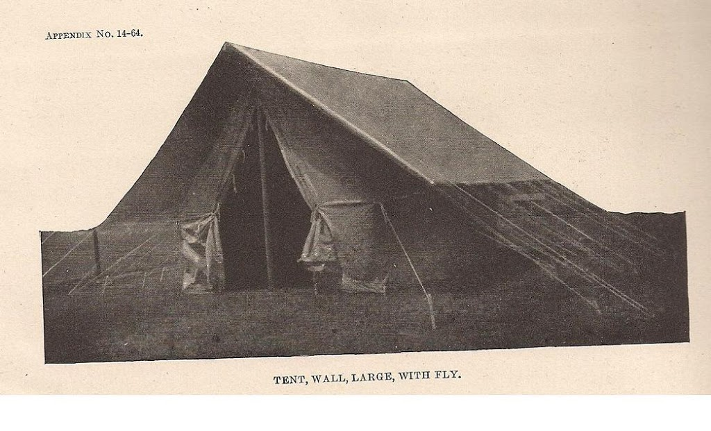 World War One Tents from Armbruster & Armbruster Manufacturing Co. | Canvas Tents