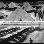 WWI Pyramidal Tents