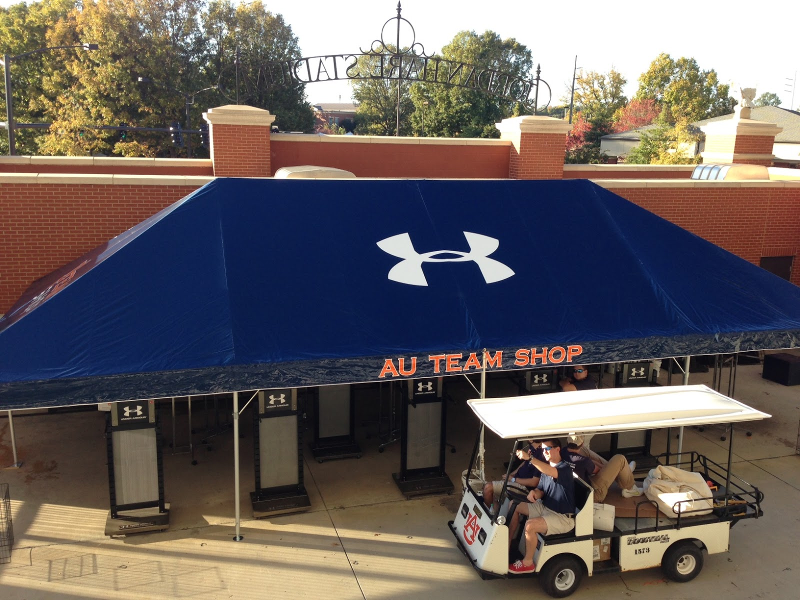 Celebration Tents with Graphics & Armbruster Manufacturing Co.   Celebration Tents with Graphics