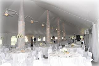 Wedding Tent Interior