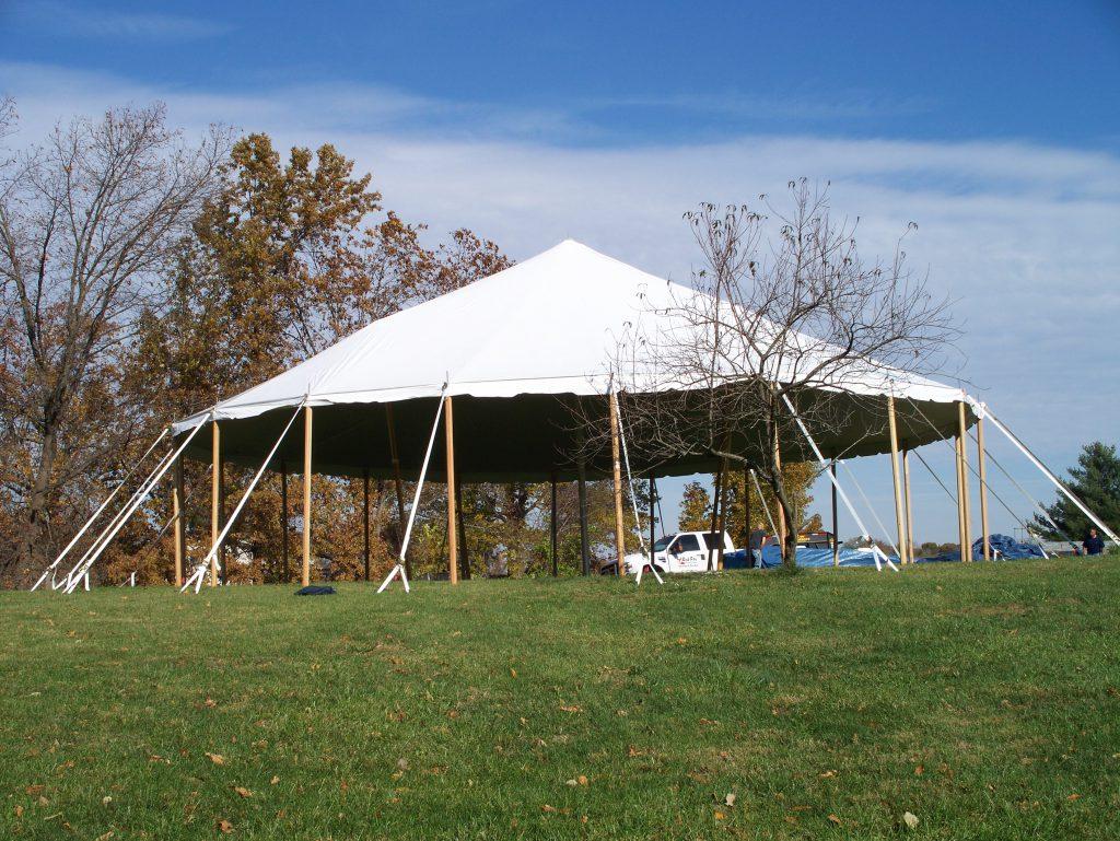 Custom Shaped Traditional Tents