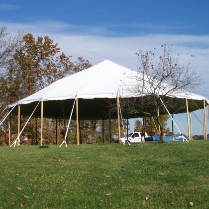 Custom Shaped Traditional Tents