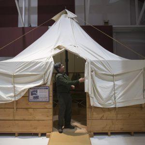 Historic Mining Tent