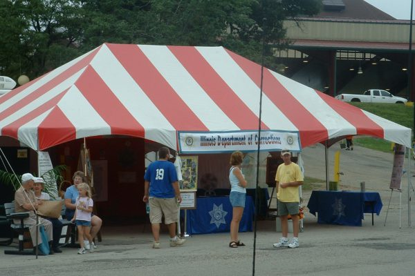 Red and White Tent, State Fair, Rental