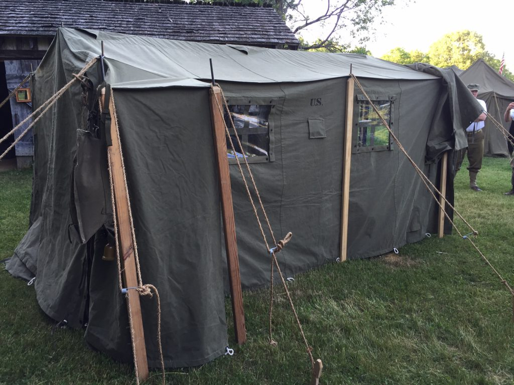 Armbruster Manufacturing Co    World War II Era Tents