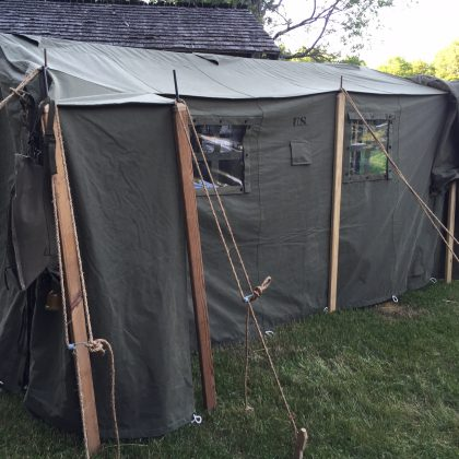 WWII Command Post Tent