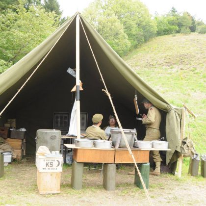 WWII Large Wall Tent