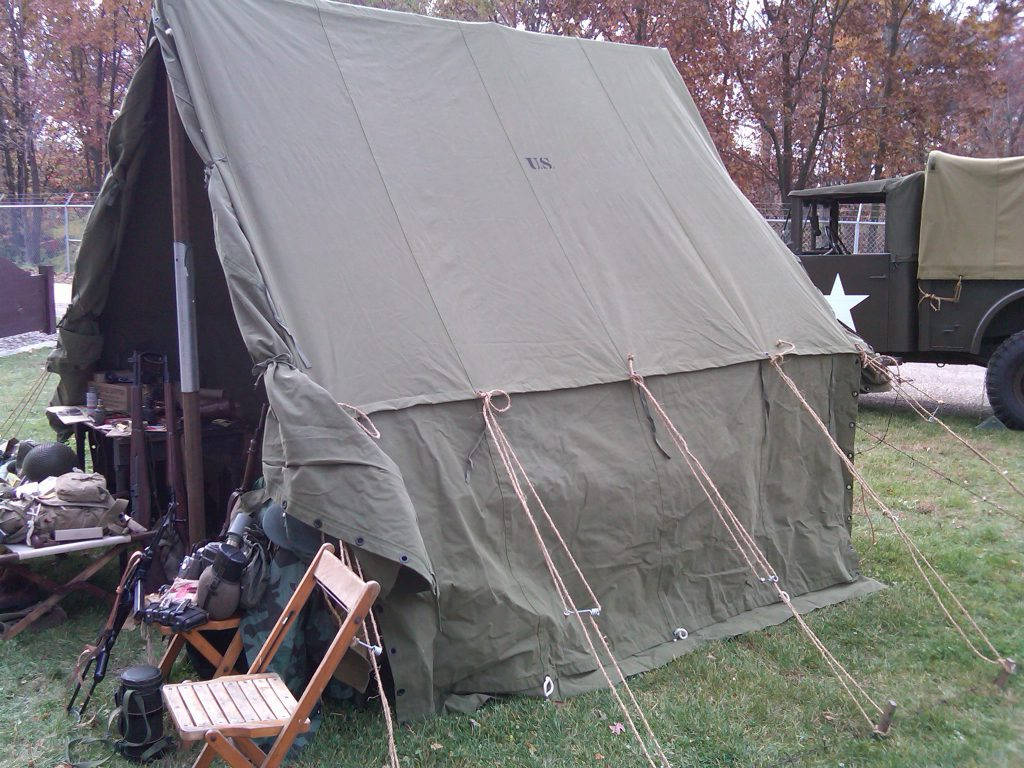 Armbruster Manufacturing Co  | World War II Era Tents