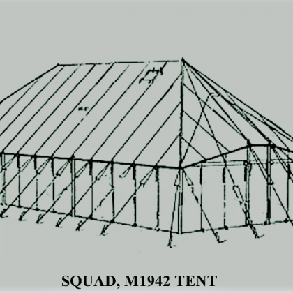 WWII Squad Tent