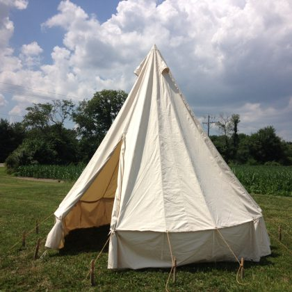 WWI Bell Tent
