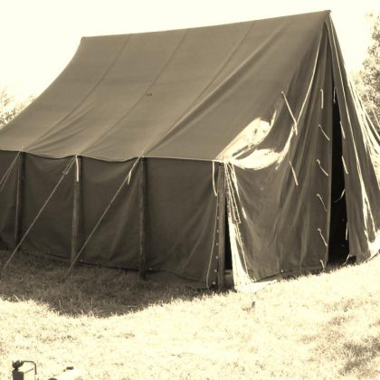 WWI Large Wall Tent