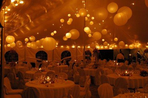 Wedding Rental Interior Tent
