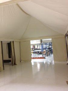 Glamping Tent, Interior