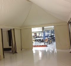 Glamping Tent, Interior