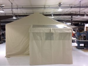 Glamping Tent, Exterior, Shower Area