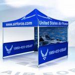Vitabri Pop-Up Canopy United States Air Force