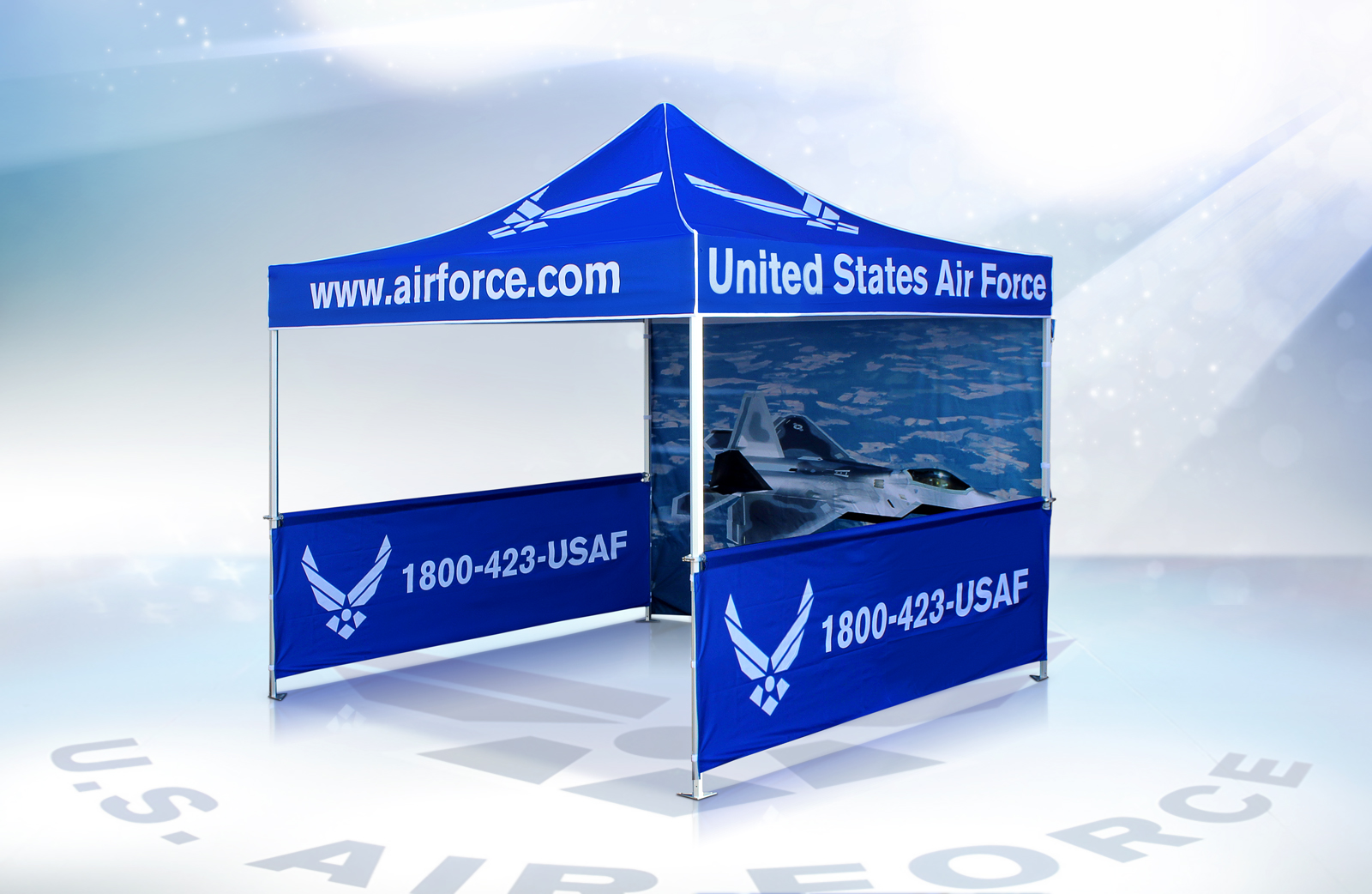 Vitabri Pop-Up Canopy United States Air Force