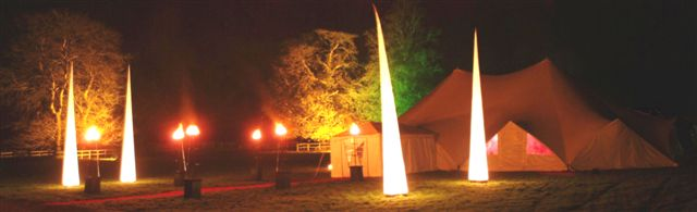 TensionTent Marquee Lighten Up U.K.