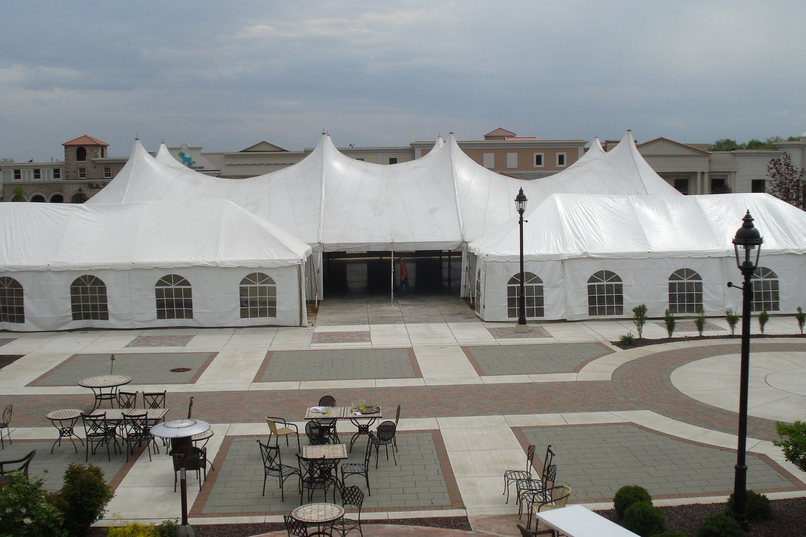EuroTent, Indiana, Used as Concert Venue, 2010