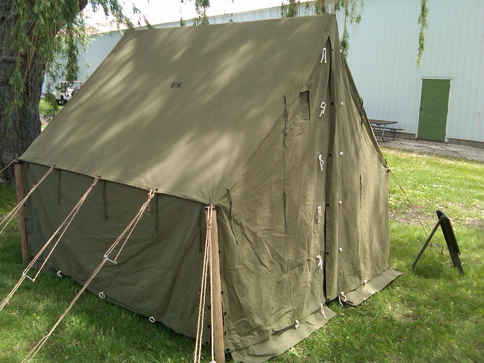 World War II (WWII) Tent at Anzio Express Event