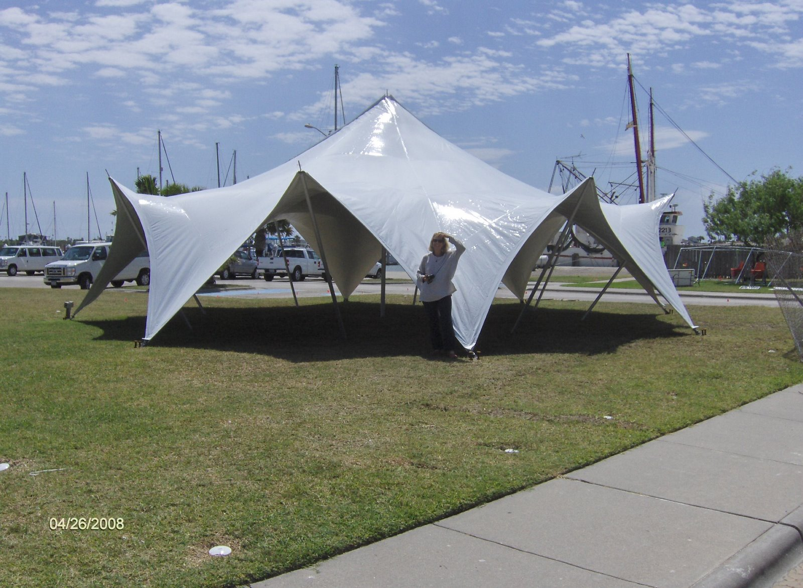 TensionTent used at Relay for Life