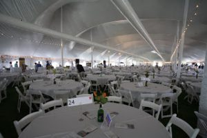 EuroTent Easter Seals Interior with Decor