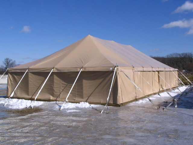 Military Tent, GSA, Tan Tent, March 2008