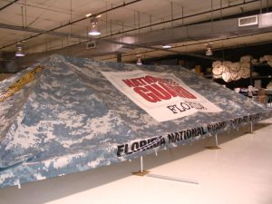 Military Tent, GSA, National Guard, Camouflage Graphics, June 2008