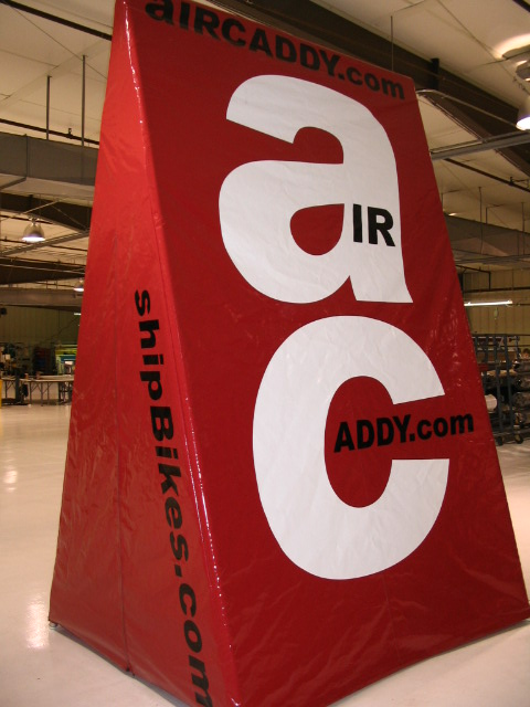 Air Caddy Display Tent for shipbikes.com