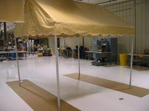 Concession Tent for Popcorn Vendor