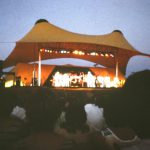 Milwaukee Summer Fest 1972 Tension Structure Johnny Cash Performing