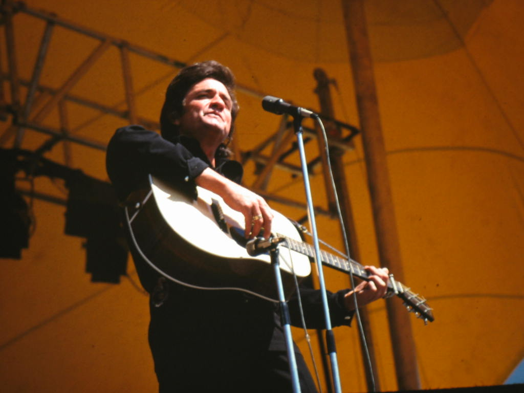 Milwaukee Summer Fest 1972 Tension Structure Johnny Cash