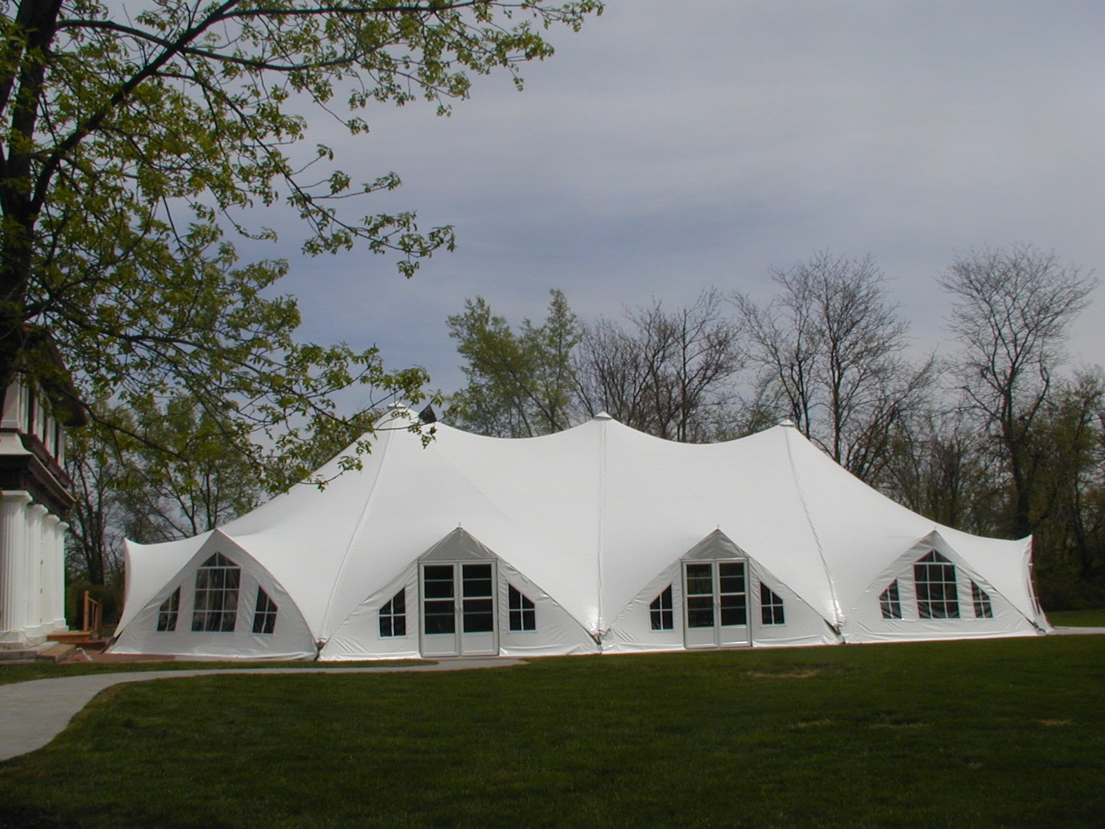 Kansas City Tension Tent (48x88), Wedding and Event Venue, Exterior View