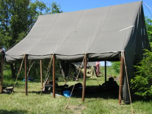 Large Wall Tent, World War II (WWII)