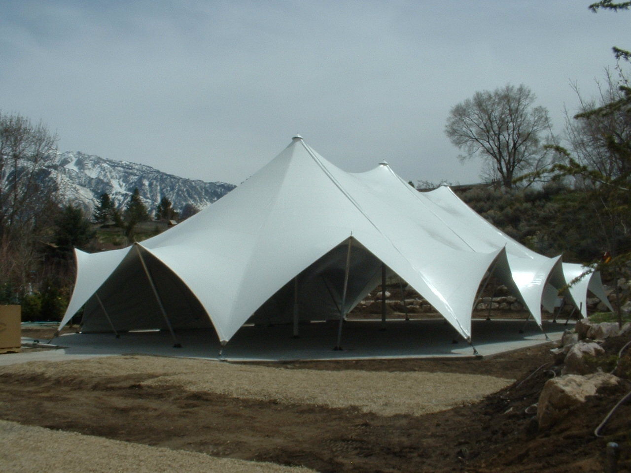 TensionTent, Salt Lake City, Utah, Western Garden Center