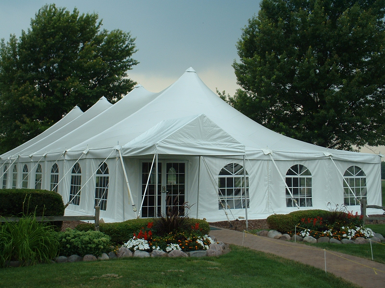 Countryside Banquet & Catering, Washington, Illinois, Garden Tent, 60x100 EuroTent