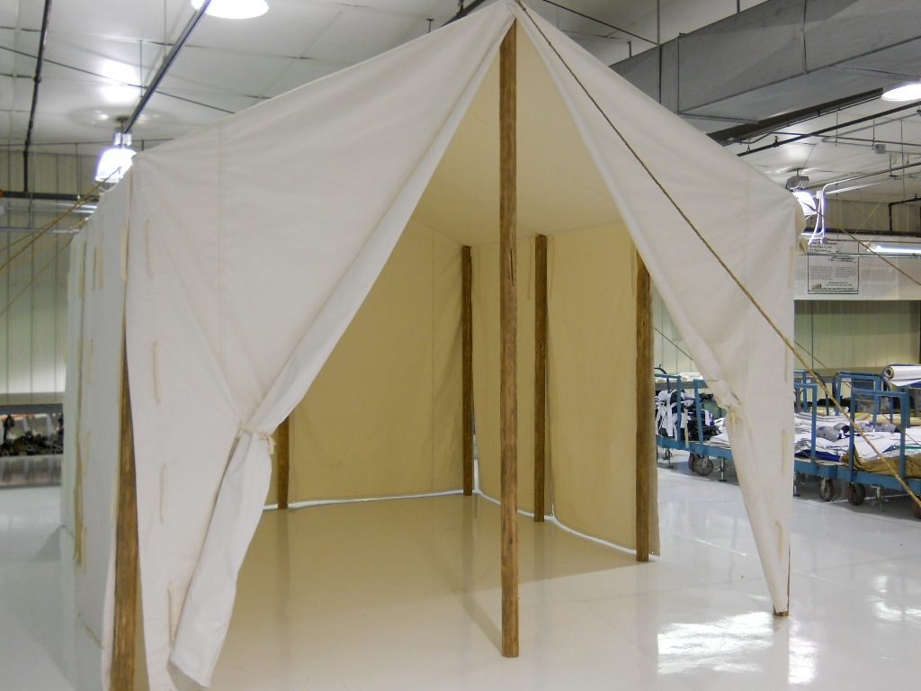 Civil War Era Canvas Tent