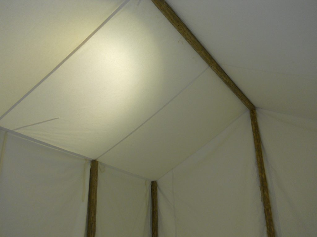 Civil War Era Canvas Tent, Interior