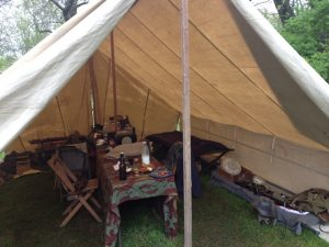 Truppenzelt - German World War II (WWII) Troop Tent Interior