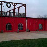 Enclosure at Cedar Lake Cellars in MO.