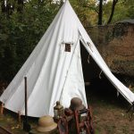 Recreation of a WWI Austro-Hungarian field tent